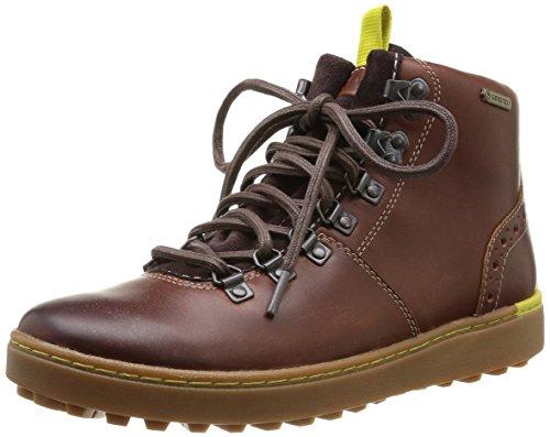 Clarks Nanu Hike GTX Herren Kurzschaft Stiefel Braun (Chestnut Leather)