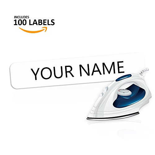 - Iron On Clothing Labels- Personalized with your name!