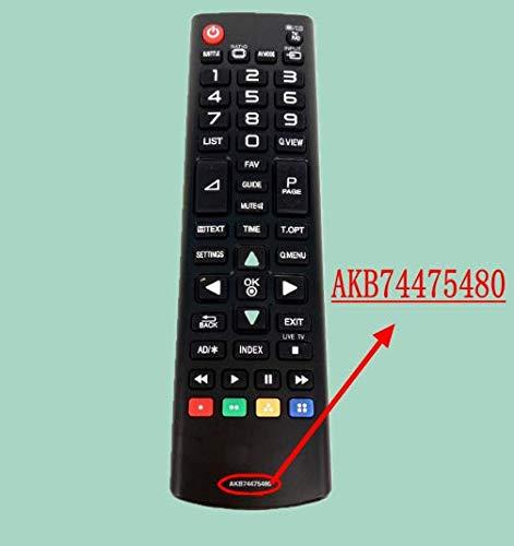Calvas - Mando a Distancia para televisor LG AKB74475480 (LED ...