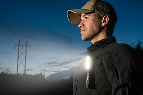 Cat CT1200 Pocket COB Light – Brilliantly Bright 175 Lumen COB LED Flood Beam Pocket Work Light, Camouflage
