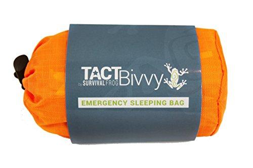 TACT Bivvy Emergency Sleeping Bag by Survival Frog
