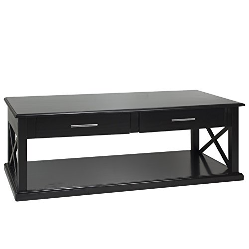 Casual Home Bay View Coffee Table-Black