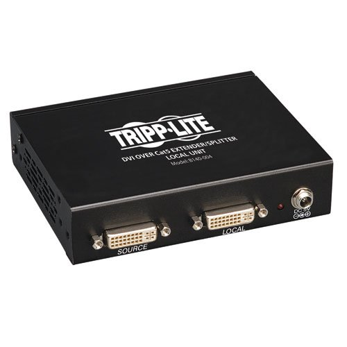 Tripp Lite 4-Port DVI over Cat5 / Cat6 Extender Splitter, Video Transmitter 1920x1080 at 60Hz(B140-004) by Tripp Lite