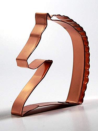 """HORSE HEAD COOKIE CUTTER"""" - 5"""" x 4.5"""" w/Gift Box with Recipes (Make great Dressage Horse, Morgan Horse and Other Breed Cookies) from Red Horse Marketing 2"""