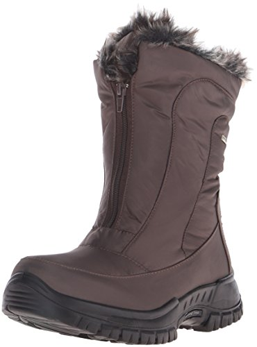 Spring Step Women's Zigzag Snow Boot Brown