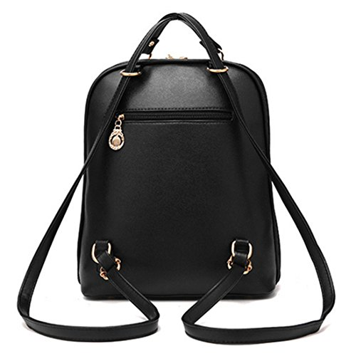Bags Girls FOLLOWUS PU FOLLOWUS Girls Rucksack School Casual Backpack Leather PU Leather School Backpack qwPFYqT