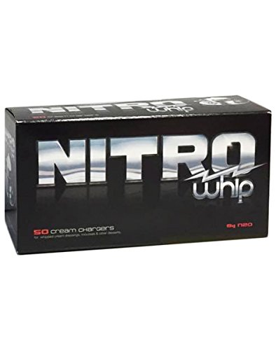 Whip-it! Nitro Cream Chargers, 50 Pack