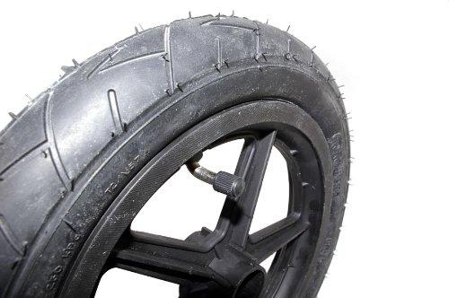 Rubena Reifen 25, 4 x 4, 4 - 5, 4 cm (10 x 1, 75 - 2, 125 Zoll) Slick Kinderwagen