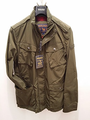 Travel Jacket Summer Military Wocps2430 Verde Woolrich 7zqgn