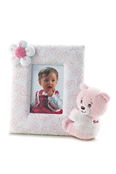 Trudi Picture Frame Pink Teddy Bear Newborn 28064