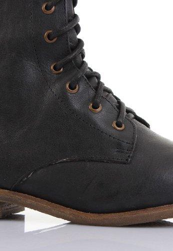 Coolway - Botas para mujer Negro negro Negro - negro