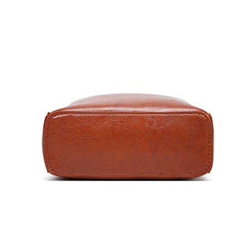 a mano Borsa in mano nappa Borsa A tracolla diagonale 1 pelle a PU pelle in in a Borsa Colore Handbag Pq8xE7wE