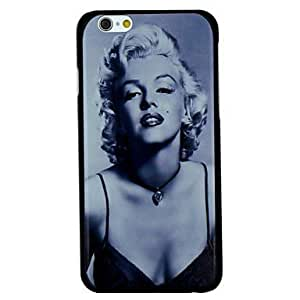 Sexy Marilyn Monroe Pattern PC Hard Back Cover Case for iPhone 6