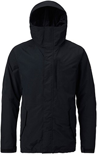 Burton Men's Shell Gore-Tex Radial Jacket, True Black, (1 Gore Tex Jacket)