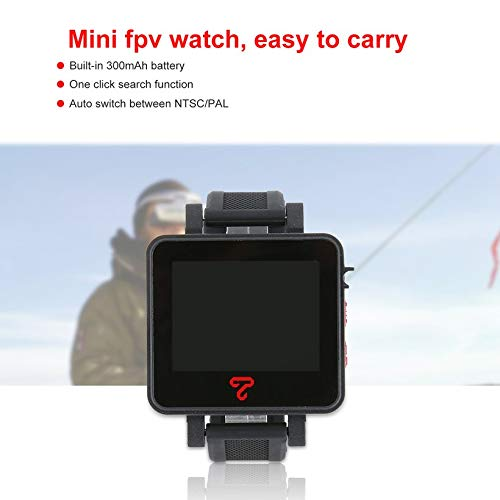 Wikiwand Topsky 2 Inch 4:3 LCD Watch 5.8Ghz 48CH FPV Watch Monitor for RC Drone Part by Wikiwand (Image #2)