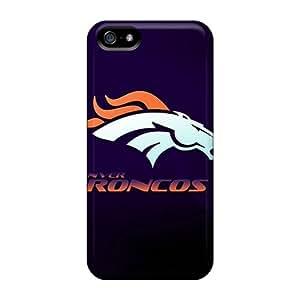 Iphone 5/5s AUG346IOqe Custom Attractive Denver Broncos Skin Shockproof Hard Phone Case -KimberleyBoyes