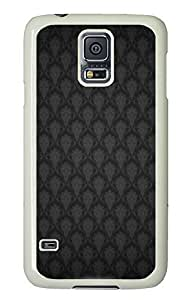 Samsung Galaxy S5 online cases Patterned Black PC White Custom Samsung Galaxy S5 Case Cover