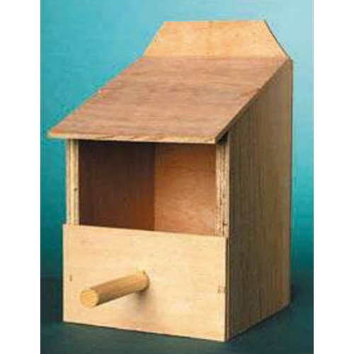 Thc Standard Cockatiel Nesting Box With Removable Roof by The Hutch Company Ltd