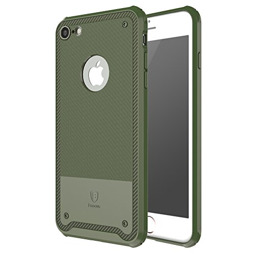 Coque iPhone 7, IVSO iPhone 7 Housse Etui TPU Silicone Case Coque pour Apple iPhone 7 (Vert)