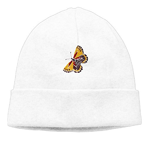Price comparison product image Butterfly Womens Winter Warm Knitting Hats Wool Baggy Slouchy Beanie Hat Skull Cap White