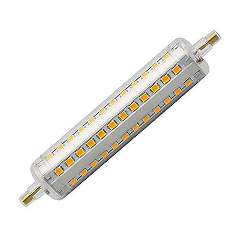 Ledkia Blanc Ampoule R7s 118mm Led Froid 10w Slim 6000k Nwm80nOv