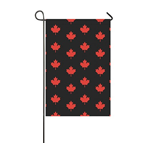Home Decorative Outdoor Double Sided Maple Leaf Canada Emble