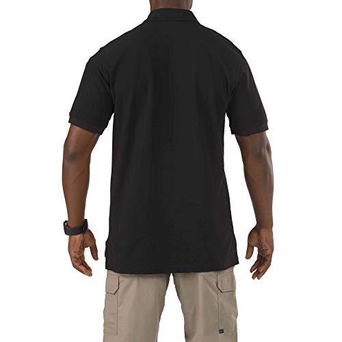 negro utilidad corta 5 Polo 11 manga para para hombre PRwwtqW8Z