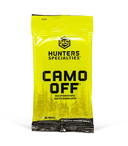 Off Makeup Remover Camo (Hunters Specialties Camo-Off Makeup Remover)