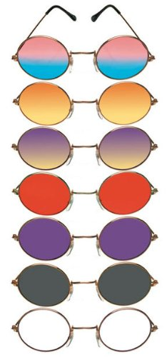 John Sunglasses - Adult Std. - Red Glasses Elton John