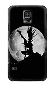 R2706 Death Note Ryuk Shinigami Grim Reaper Full Moon Silhouette Case Cover For Samsung Galaxy S5