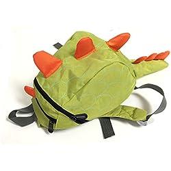Wrapables Kids Dinosaur Backpack Schoolbag, Light Green