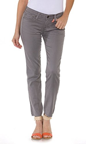 Womens Big Star (Big Star Women's Remy Cropped Jeans in Soft Grey Wash)