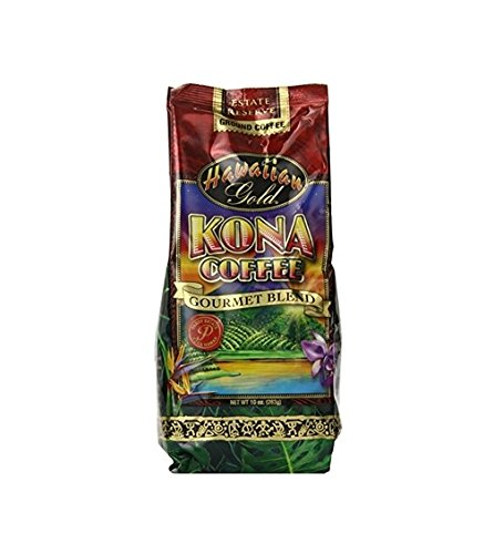 Hawallan Gold Kona Blend Coffee, 2 Pound