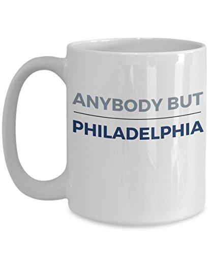 Anybody But Philadelphia Coffee-Tea Mug Dallas - Eagles Cowboys