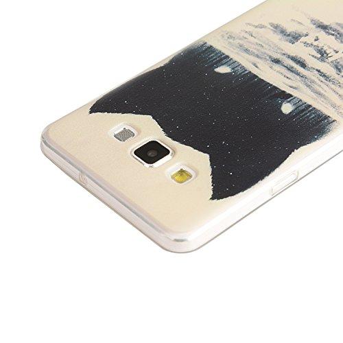 TPU para smartphone Samsung Galaxy A5(2015) Diseño Protective funda rígida Back Cover Carcasa–Patrón resistente al Case Carcasa Cover en smartphone Samsung Galaxy A5(2015) resistente al diseño Ski 9