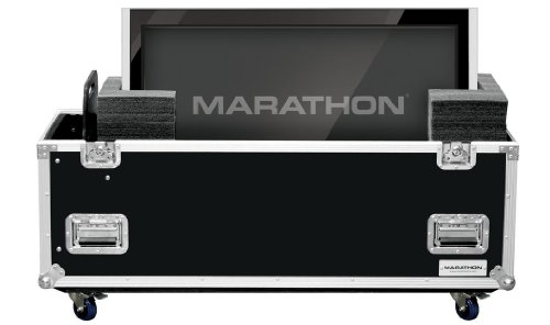 Marathon Flight Road Case MAPLASMA32W Universal Case with Casters for Plasma 32-Inch Monitors by Marathon