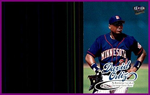 1999 Ultra #24 David Ortiz MINNESOTA TWINS