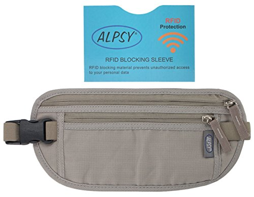 alpsy-money-belt-w-rfid-blocking-sleeve-secure-travel-wallet-waist-pouch-gray