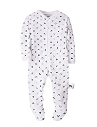 Baby Boys Pajama - 100% Cotton Warm Long Sleeve Romper Outfits Baby Onesie Jumpsuit