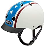 Nutcase - Patterned Street Bike Helmet for Adults, Americana, Large