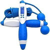 VELIHOME Smart Rope Tela de pular digital de cálculo de pular, calorias, fitness, exercícios, pular, ferramenta de…