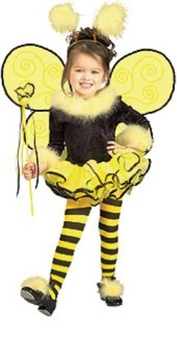 [Rubie's Child's Costume, Bumblebee Tutu Costume-Toddler] (Bee Toddler Costumes)