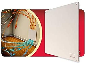Digiteck - TC341 - Panel calefactor de pared ultraplano, 400 W, de bajo consumo, calor económico: Amazon.es: Bricolaje y herramientas