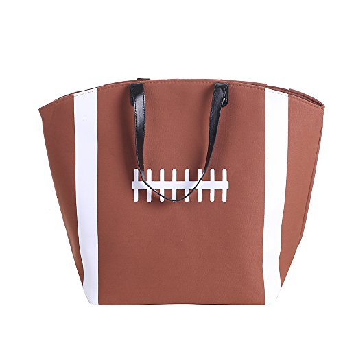 Sports Travel Utility firstfeeling Baseball Prints Tote E Large Football Bag Beach CTPXwWq