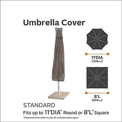 Classic Accessories Ravenna Water-Resistant 11 Foot Patio Umbrella Cover : Garden & Outdoor