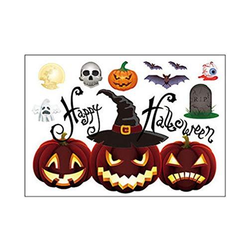 BOying Window Wall Sticker Halloween Decorations Halloween Decals Wall Stickers Halloween Stickers