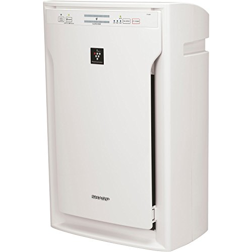 Sharp FPA80UW Plasmacluster Ion Air Purifier with True HEPA Filter by SHARP