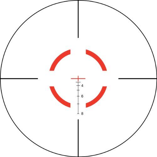 Trijicon VCOG 1-6x24 Riflescope Red Segmented Circle/Crosshair .223/55 Grain Ballistic Reticle with Thumb Screw Mount