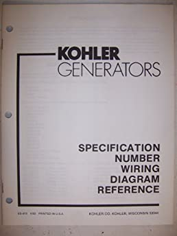 kohler generators specification number wiring diagram reference Kohler K321 Engine Diagram S