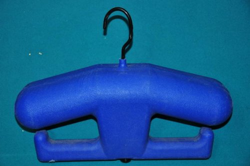 Scuba/wet Suit/dry Suit Blue Molded Plastic Hanger Adult.